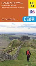 OL43 Hadrian's Wall Ordnance Survey Explorer Map OL 43