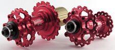 Circus Monkey HDW2 Disc Hub F 28 R 28 H 6 Pawls MTB CNC 6 Bolt F&R set Red