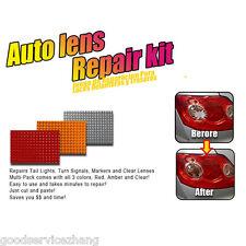 Car Auto Lens Repair Tool Kit 3 Colors Multi-Pack Quick Fix Cracked Broken Tool