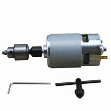 775 Motor 12-24V DC Electric Drill + Drill Chuck For Polishing Drilling Cutting