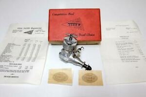 Very Rare 1967 Oliver Tiger Mk. IV / 2.5cc Diesel Model Engine With Box & Papers