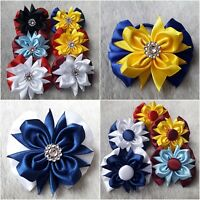 kids accessories hair  bows bobbles girls school ribbons beautifful clip