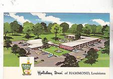 "*Louisiana Postcard-""The Holiday Inn...of Hammond LA."" (U1-LA63)"
