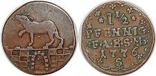 Germany Anhalt-Bernburg , Friedrich Albrecht (1765-1796), 1-1/2 Pfennig, 1776