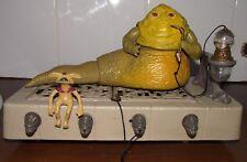 Jabba the hutt playset vintage star wars hut