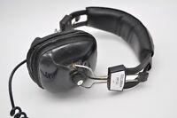 Vintage Columbia HP-21 Headset Headphones Dynamic Stereo Prop Retro
