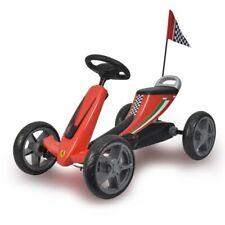 Licensed Ferrari Kids Pedal Go Kart Red