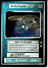 STAR TREK CCG THE MOTION PICTURES RARE CARD STARSHIP ENTERPRISE
