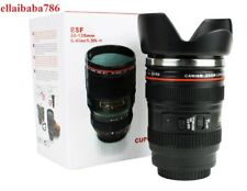 New Camera Lens ESF28-135mm Travel Mug Coffee Tea Stainless Thermos Cup Big Size