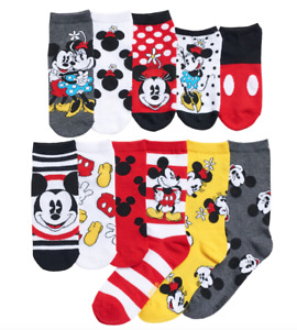Mickey Mouse 12 Days of Socks Womens Disney 90th Anniversary New Collectible Box