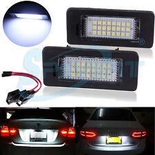 Lumières de la plaque d'immatriculation de la voiture LED pour Audi A4 A5/Passat