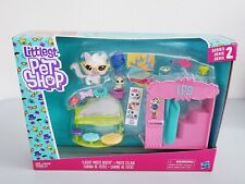 Hasbro Littlest Pet Shop Series 2 Flashy Photo Booth Play Set Cleo Curlycat New