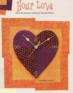 Hour Love Quilt Pattern Pieced/Applique LK