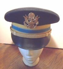 U.S. MILITARY ARMY OFFICERS GRADE INFANTRY DRESS CLEAN VISOR HAT CAP, SIZE 7