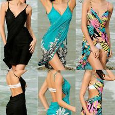 Sexy Women Bathing Suit Bikini Cover Up Beach Dress Sarong Wrap Pareo Swimwear