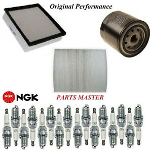 Tune Up Kit Filters Spark Plugs For JEEP GRAND CHEROKEE V8; 6.4L 2012-2017