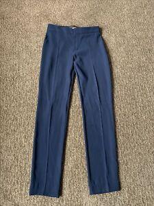 Louis Vuitton Uniformes Womens Slacks Pants Navy Blue Slim Size 34 US 0
