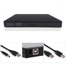 USA External DVD Combo CD-RW CD±RW Burner Drive USB 2.0 Black