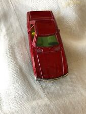 Vintage Yatming Mercedes-Benz 350 Sl Red Number 1011 Made in Hong Kong