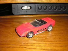 "RARE Tootsie Toy 1/32 ? 5 1/8"" C4 1990's Chevy Corvette Convertible Roadster Red"