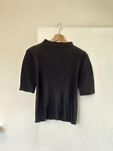 Issey miyake pleats please black top size 1