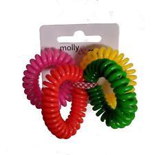 Neon Telephone Coil Hair Scrunchie Hair Bobbles Hair Elastics