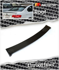 BMW E92 Coupe 3-Series Carbon Fiber Roof Top Window Spoiler 325i 328i 335i M3
