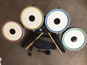 BEATLES ROCK BAND DRUMS SET With Dongle PS3