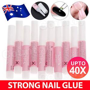 5-40X Strong Nail Glue Adhesive For Fake Nail Set Nail Tips Acrylic Nail 2g Each