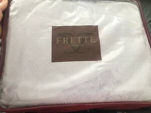 BNWT Frette Couture Lilac Duvet Set 260x220, Duvet Cover, Pillowsx2, Flat Sheet