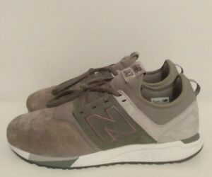 New Balance 247 Suede Running Sneaker Trainers Men's Size 11 MRL247RT Olive/Tan