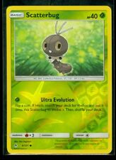 Pokemon SCATTERBUG 6/131 - Forbidden Light - Rev Holo - MINT