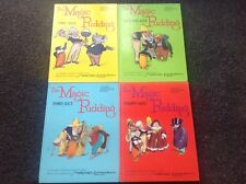 4 x THE MAGIC PUDDING  NORMAN LINDSAY YOUNG AUSTRALIAN Vintage 1970s LOVELY