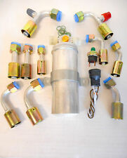 A/C  ALUMINUM DRIER & BINARY SWITCH,O RING FITTING KIT,HOT ROD W/SWITCH HARNESS