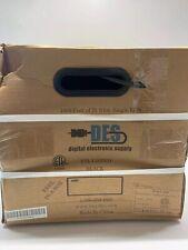 Coax 1000ft New Box 75ohm Single RG6 Dual Sheild Copper Clad Steel Cable