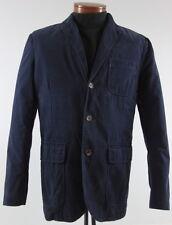 Men's POLO RALPH LAUREN Navy Blue Cotton Casual Jacket Blazer 42R 42 Regular NWT