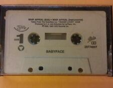 BabyFace : WHIP APPEAL PROMO SINGLE FROM Tender Lover Cassette Tape 1989 Solar