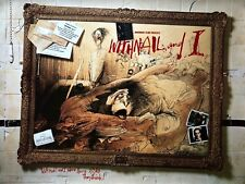 A4 framed poster of a scene from Withnail /& I with Richard E Grant /& Paul McGann