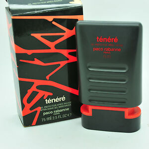 Vintage Paco Rabanne Tenere 75ml aftershave balm moisturizer