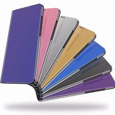 Espejo de galjanoplastia de Lujo con cierre magnético de Cuero PU Carcasa Con Soporte Para Xiaomi Redmi cubiertas de teléfono