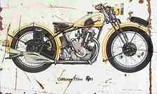 Calthorpe 350 1930 Aged Vintage SIGN A3 LARGE Retro