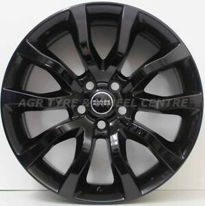 20 inch Genuine Range Rover Sport 2017 Model Wheels IN GLOSS BLACK FIT DISCOVERY