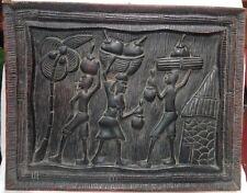 Placca in legno africana cm 36x46 Antikidea
