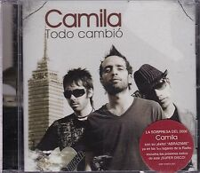 Camila Todo Cambio CD New Sealed