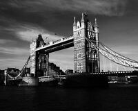 England LONDON BRIDGE Glossy 8x10 Photo Print Wall Art Poster United Kingdom