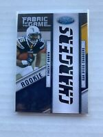 2011 VINCENT BROWN Certified Rookie Fabric of the Game #27 Brown Jersey /25