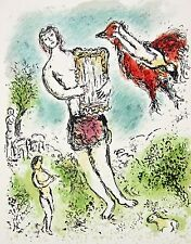 Theoclymenus (The Odyessy), 1989 Limited Edition Lithograph, Marc Chagall
