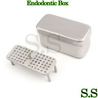 ENDODONTIC BOX 100X44X54mm Surgical Dental Instruments
