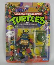 Leo The Sewer Samurai 1990 Ninja Turtles Playmates Toys Action Figure
