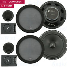 "Infinity 315 Watts 6-1/2"" 2-Way Pro Car Audio Component Speaker System 6.5"" New"
